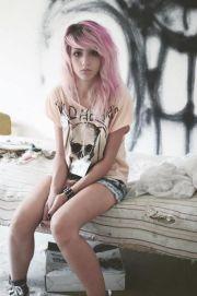 pink grunge hair http nicehairstyles