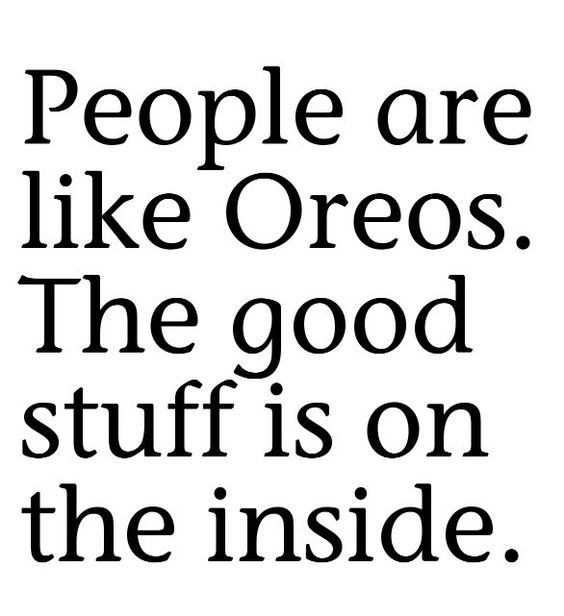 Oreo, Beauty and Quotes about on Pinterest