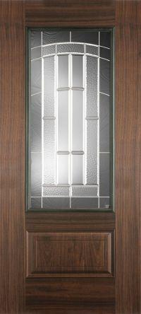 Fiberglass Doors | Belleville AvantGuard Black Walnut ...