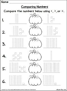 Comparing numbers, Number worksheets and Classroom