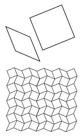 Free English Paper Piecing 8 Point Diamonds and Squares