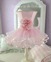 Darling shabby pink rose flower chic ruffles shade white ...