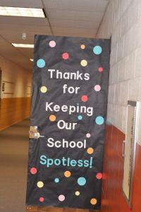 school appreciation door decorating ideas