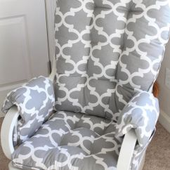2 Piece Rocking Chair Cushions Office For Carpet Cushions, Gliders And On Pinterest