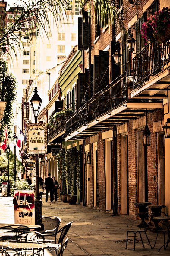 New Orleans photography downtown French Quarter:
