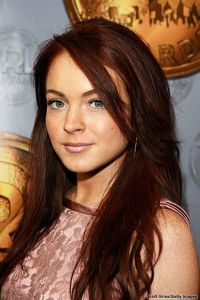 Lindsay lohan, Red hair and Hair on Pinterest