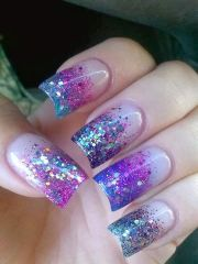 beautiful acrylics and overlay