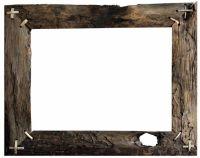 Barn wood frame ; transparent background | Transparent ...