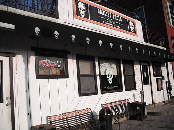 The Smiling Skull Saloon. Current and Defunct Bars, on Court Street and Beyond:
