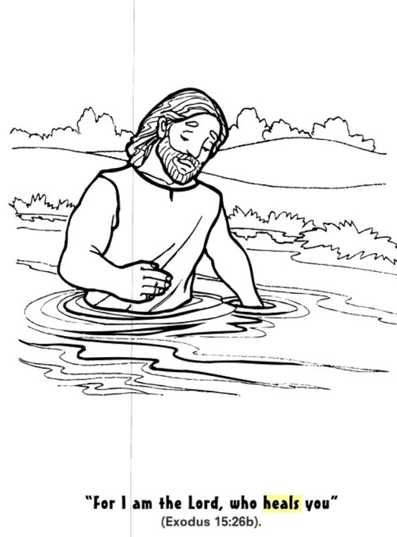 God heals, Coloring pages and Coloring on Pinterest