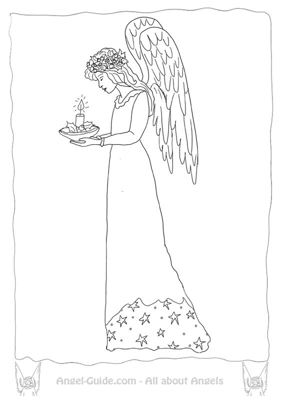 Coloring, Christmas candles and Coloring pages on Pinterest