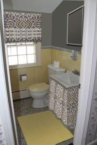 How to update an old tiled bathroom   For Bridget ...