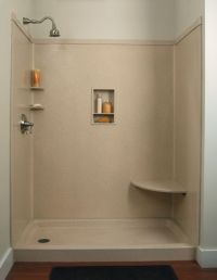 Do-It-Yourself Remodeling: Shower Kits | In kitchen, Walk ...