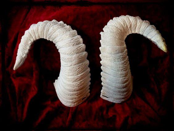 Ram Horns Costume Etsy Modern Home Revolution