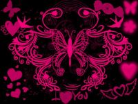Pink and Black Backgrounds | Pink And black Wallpaper ...