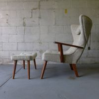TUFTED Adrian PEARSALL styled mid century Lounge Chair ...