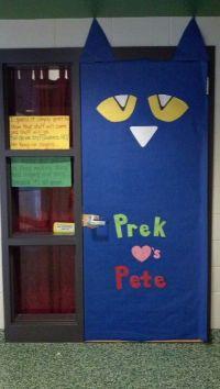 Door decorating, Pete the cats and Doors on Pinterest