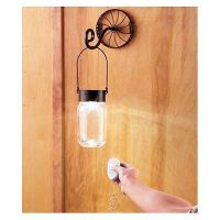 Wall sconce light,remote control mason jar light,battery ...