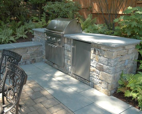 Extra seating Patio grill and Backyards on Pinterest