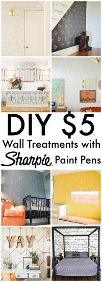 DIY Sharpie Walls | Crafting, Paint pens and A house