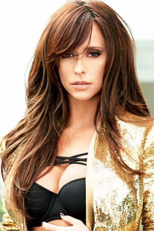 Long Layered Haircuts With Side Bangs Hair Ideas Pinterest