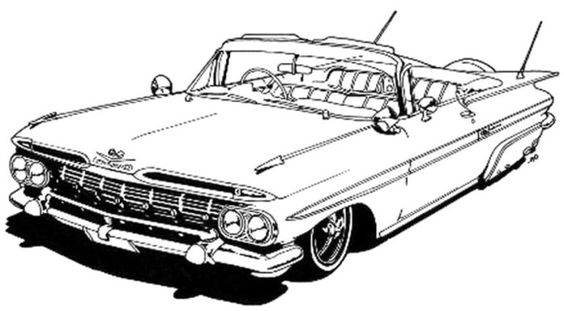 Chevrolet corvette, Corvettes and Coloring pages on Pinterest