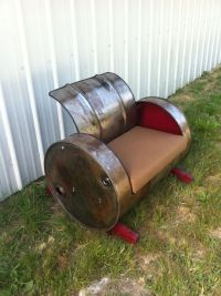 Upcycled Barrel Rocking Chair by CountryNuisance on Etsy ...