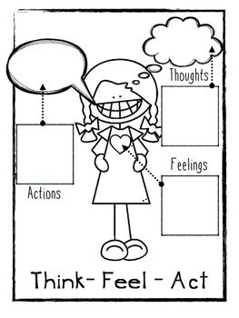Worksheets, Therapy and Feelings on Pinterest