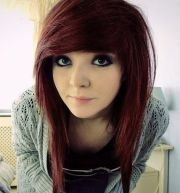 emo girl hairstyles medium