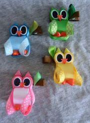 hoot owl ribbon sculpture valentine