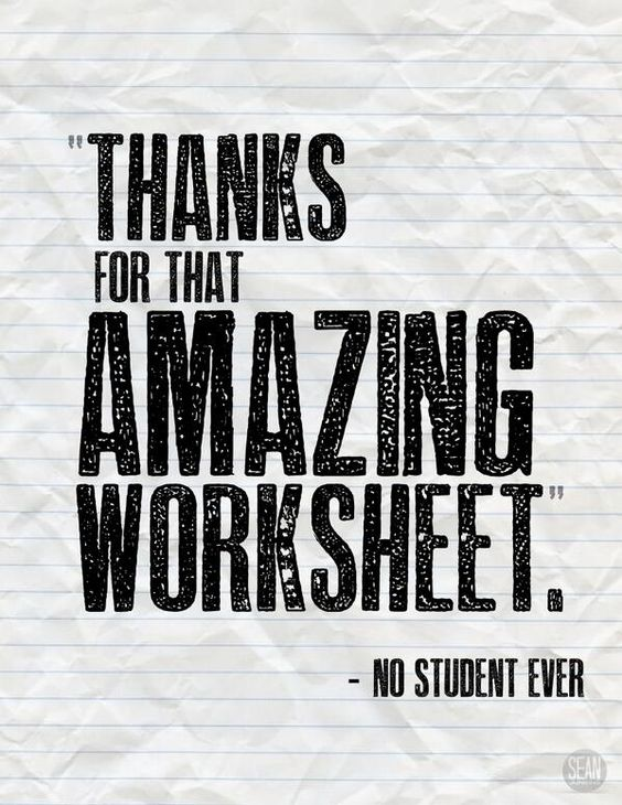 If worksheets aren't engaging your students, it's time for