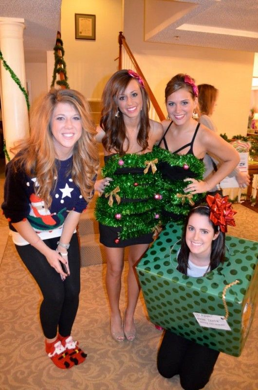 tacky christmas party costume ideas Group Costumes