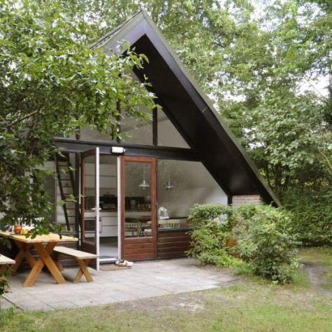 Catshuis aan Zee - huis in A-vorm: