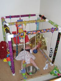 Toys, Gym and Pvc pipes on Pinterest