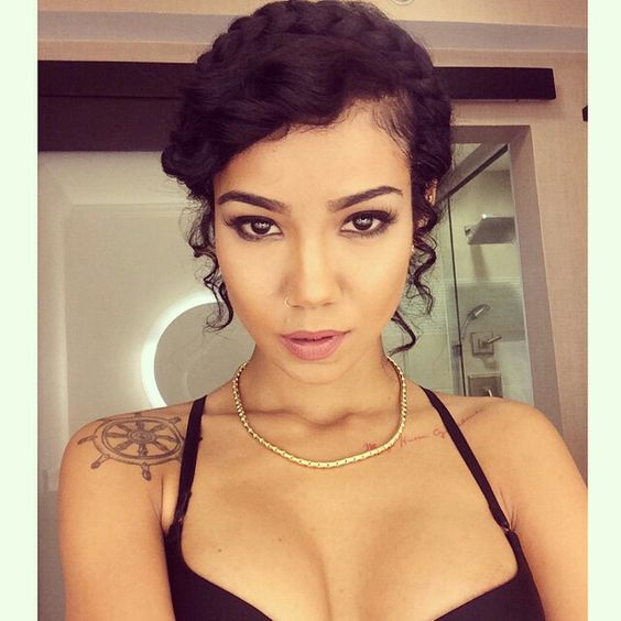Pin By Shanee Herendeen On Jhene Aiko Pinterest Hairstyle