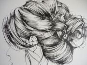 girl illustration art drawing detail people-65356526de5daff8ec3e740368091c65