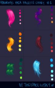 abnormal hair color palettes supplement