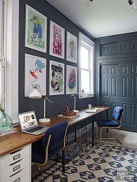 Crazy, Unique Paint Colors that Just Work | Long Desk and ...