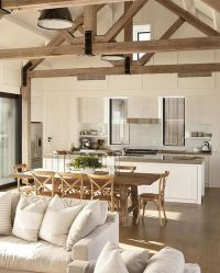 Beams, Modern farmhouse and Sunday inspiration on Pinterest