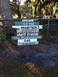 fire pit signs - Google Search | Backyard | Pinterest ...