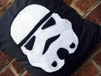 Star Wars Stormtrooper Face Cushion Pillow Geek by ...
