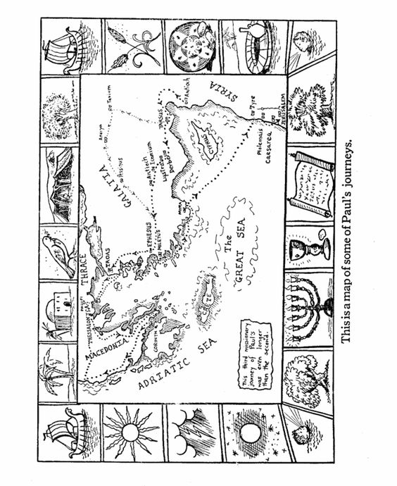 apostles coloring pages--lots of coloring pages from pauls