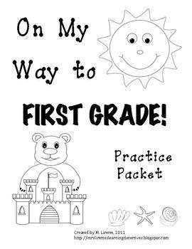 On My Way to 1st Grade! {Kindergarten Review Practice