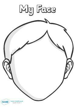 This face template is perfect for working out new designs