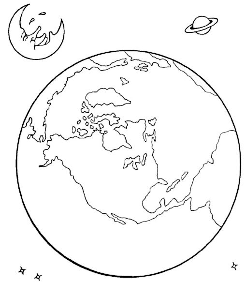 Coloring pages, Coloring and Outer space on Pinterest
