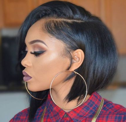 11 Stylish Relaxed Bobs for Black Women | Hairstyle Guru: