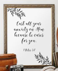 Christian wall decor, Bible verses and Wall decor on Pinterest