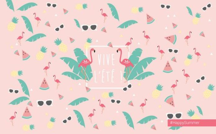 Vive l'été - Summer Desktop wallpaper - Fond d'écran ordinateur summer