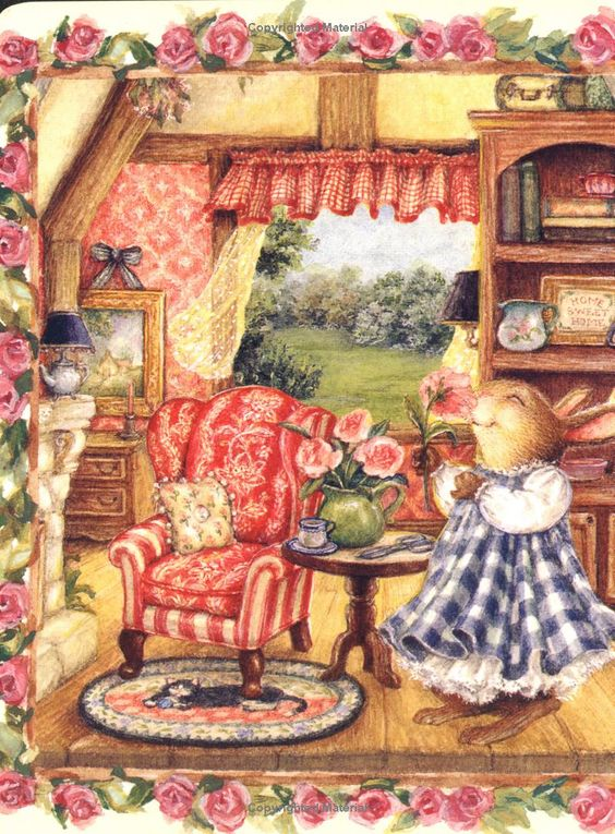 This Illustration By Susan Wheeler Is So Warm And Homey