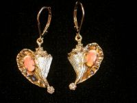 Conch Shell Earrings with Conch Pearls